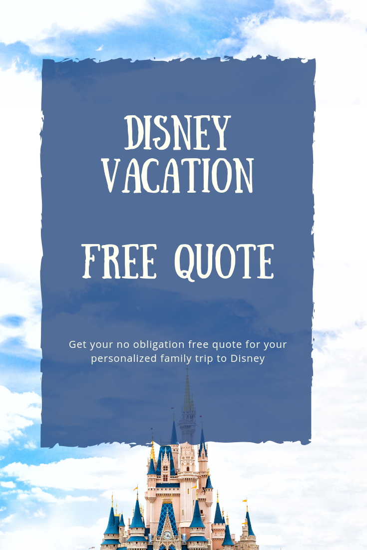 Free Disney Vacation Quote - Castle